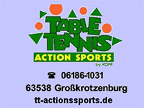 TT-Action-Sports | Tischtennisfachhandel in Großkrotzenburg